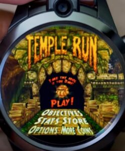 temple run zeblaze thor 5 pro