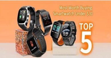 5 smartwatch baratos de menos de 30 euros