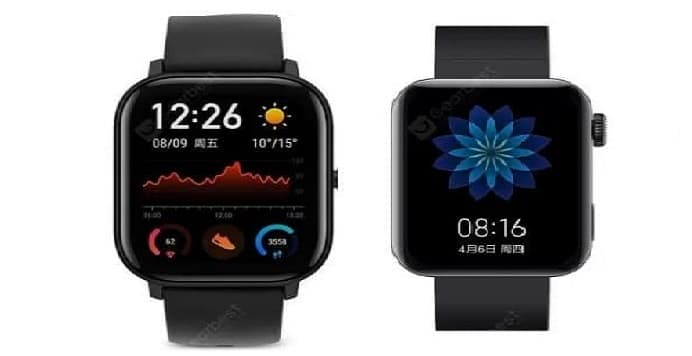 Amazfit gts vs xiaomi mi watch