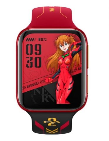 Oppo watch Asuka eva edition